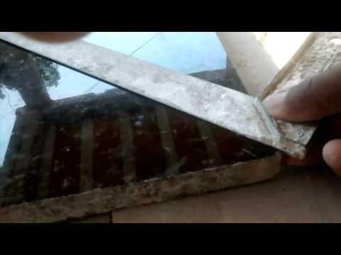 Como fazer um corte de 45 graus em pedras de granito