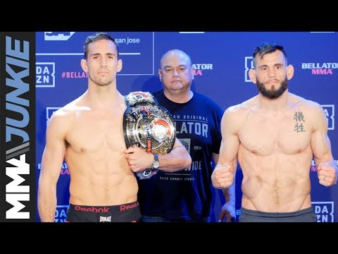 Archive of the Bellator 220: ceremonial weigh-ins from San Jose Improv