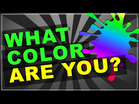 Quick Personality Test: What COLOR Are You?