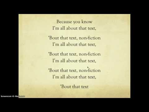 All About That Text