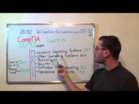220-902 – CompTIA Exam A+ Test Questions