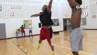 V1F - 1 on 1 Basketball, Game 050 (Cato vs Gabe)