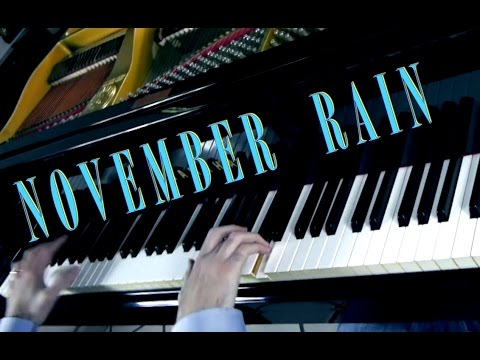 NOVEMBER RAIN - Guns N&39; Roses -  -  Piano Rock Cover play by Ear
