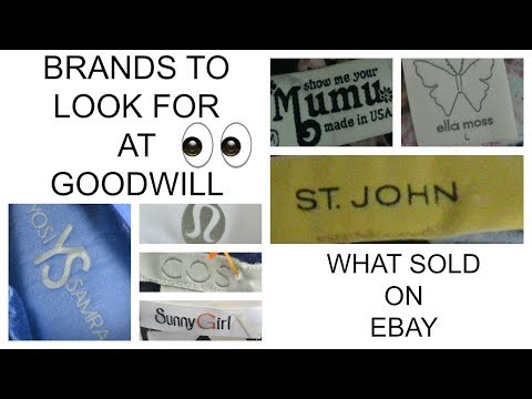 GOODWILL RIDE ALONG | WHAT SOLD ON EBAY
