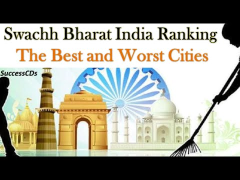 Top 10 cleanest cities in India - Swachh Bharat Rankings
