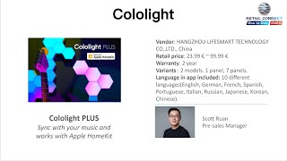Cololight by Life Smart - Pitch @ Retail Connect One-to-one 2020