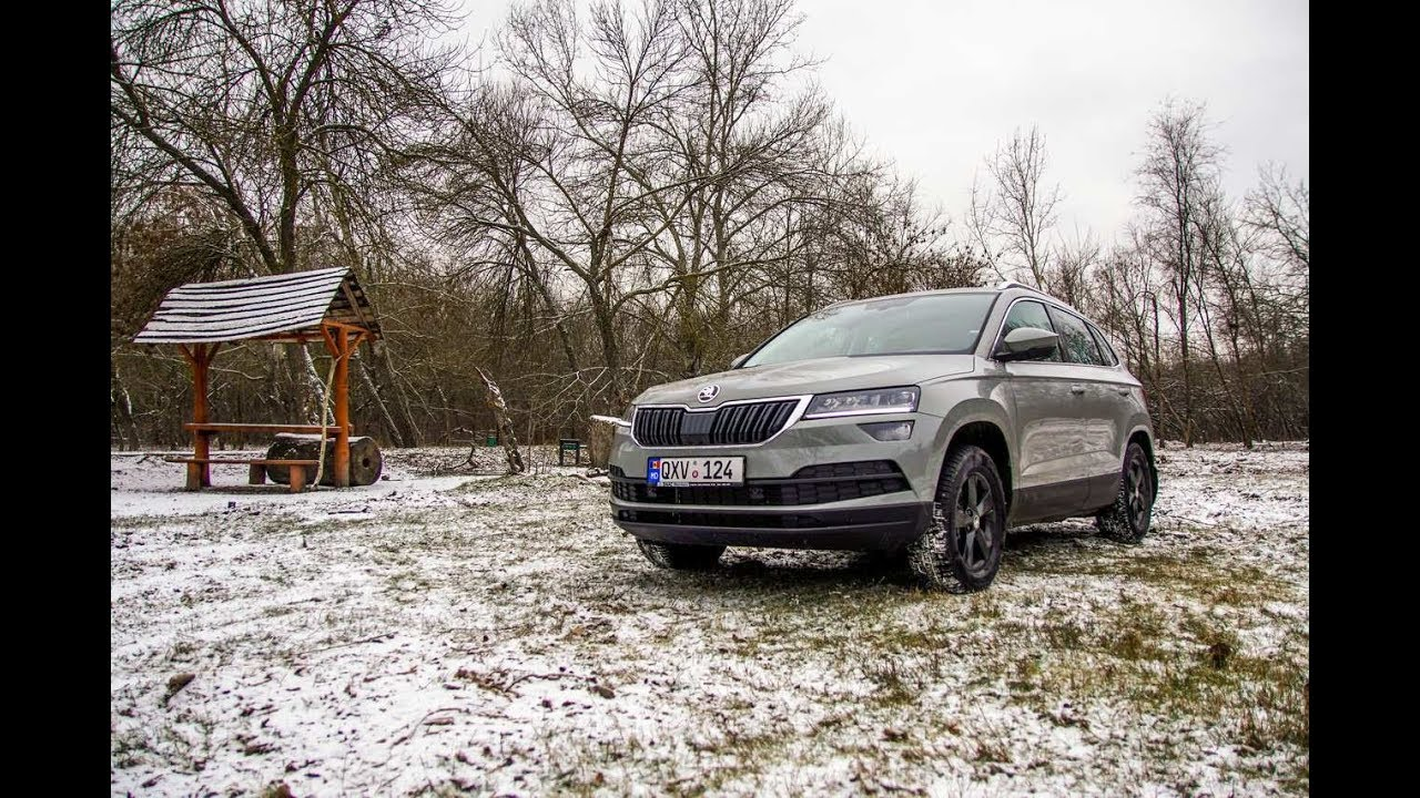 test drive skoda karoq 1 5 tsi dsg autoblog md youtube