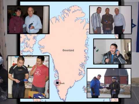 Galcom in Greenland