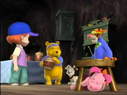 การ์ตูนหมีพูห์ ตอน Piglet's Lighthing Frightening