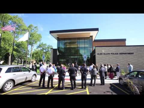 New station for the Glen Ellyn Police Department