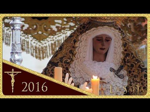 Virgen de los Desamparados - Plz. de San Pedro - Hdad. de San Esteban (Semana Santa 2016 - Sevilla)