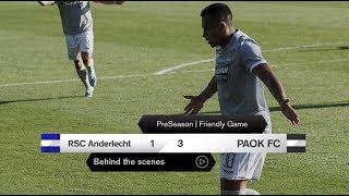 Η παρακάμερα του RSC Anderlecht-ΠΑΟΚ - PAOK TV