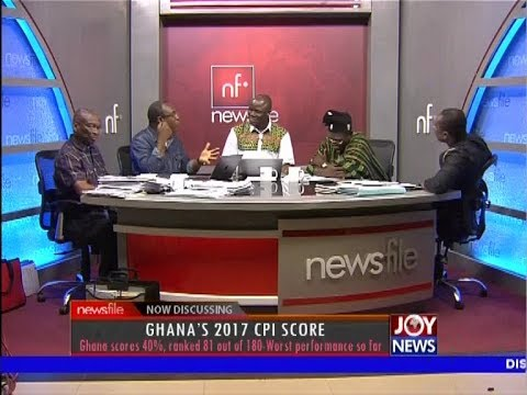 Ghana's 2017 CPI Score - Newsfile on JoyNews (24-2-18)