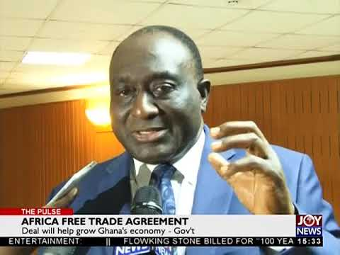 Africa Free Trade Agreement - The Pulse on JoyNews (27-4-18)