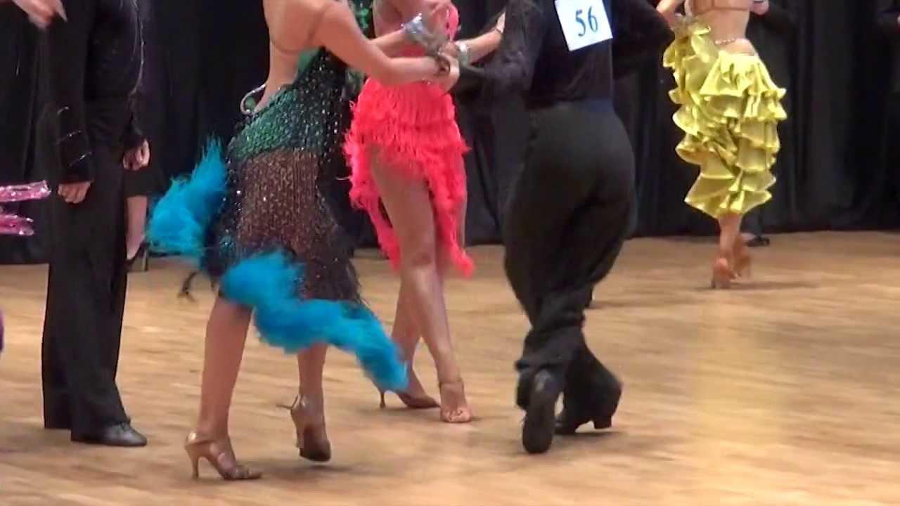 Платье для бальных танцев латина - YouTube