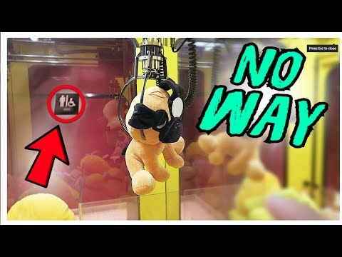 YOU'RE NOT GOING BELIEVE WHERE WE FOUND A CLAW MACHINE!!!
