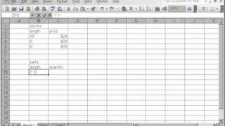 Furniture Material Calculation In Excel