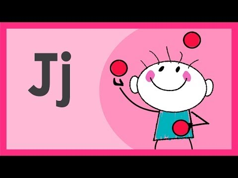 """""""The Letter J Song"""" by ABCmouse.com"""