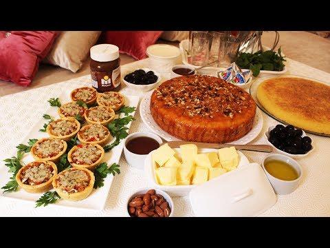 جديد حرشة المقلة كيك ومملحات لمائدة شاي المساء 3وصفات جد سهلة واقتصادية