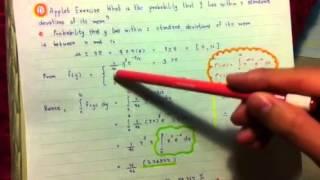 The Gamma Probability Distribution 4.96 c & d