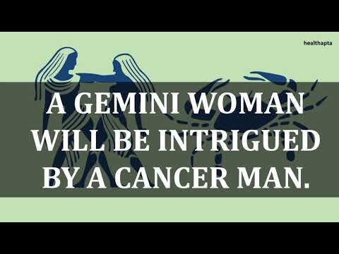 GEMINI WOMAN WITH CANCER MAN