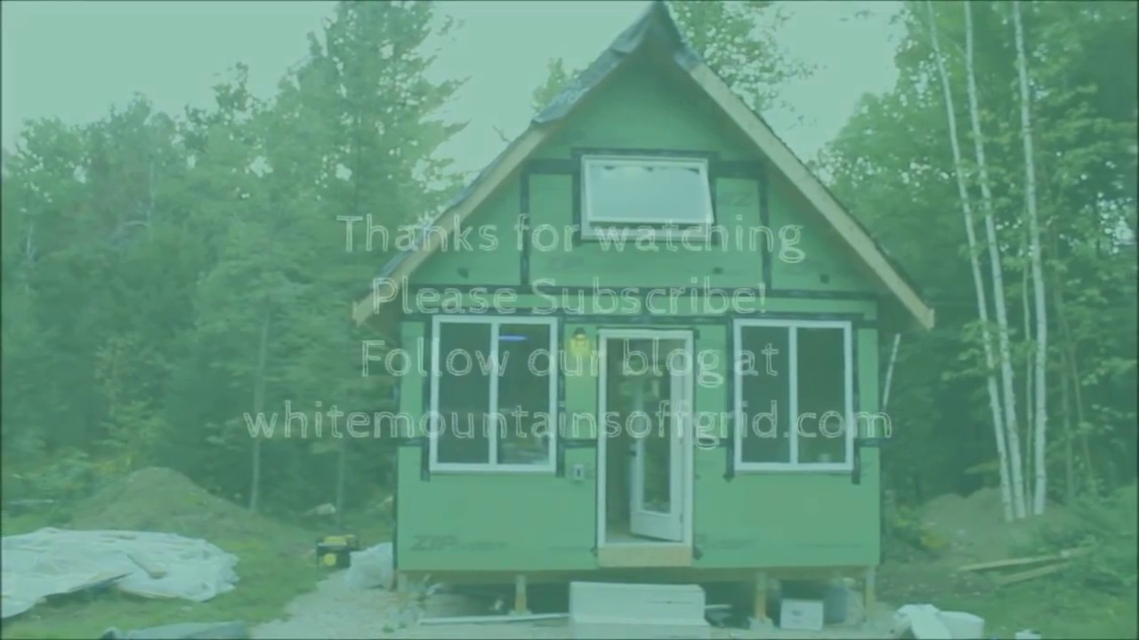 Wiring The Off Grid Cabin Youtube Log Home