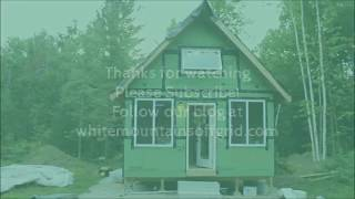 wiring the off grid cabin