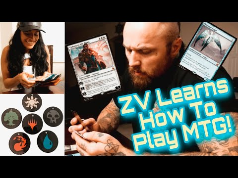 ZV Learns How To Play MAGIC THE GATHERING !