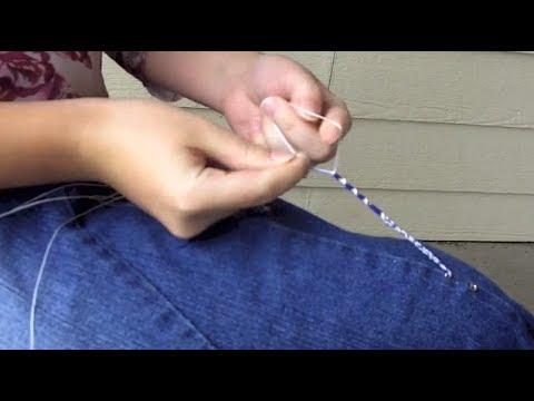 How to Make Tzitzit Fringes