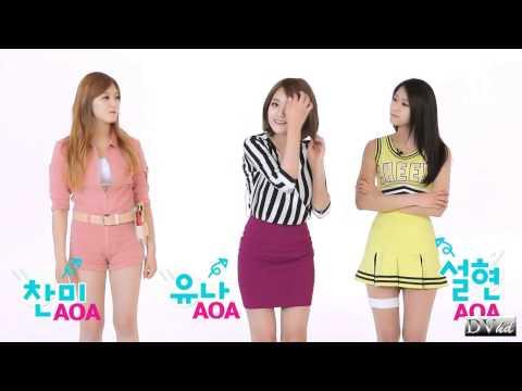 AOA - Short Hair (dance tutorial) DVhd