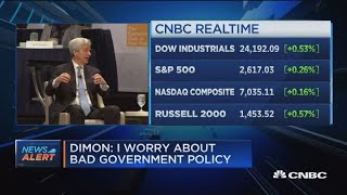 JP Morgan CEO: US-China relationship is most important in 100 years