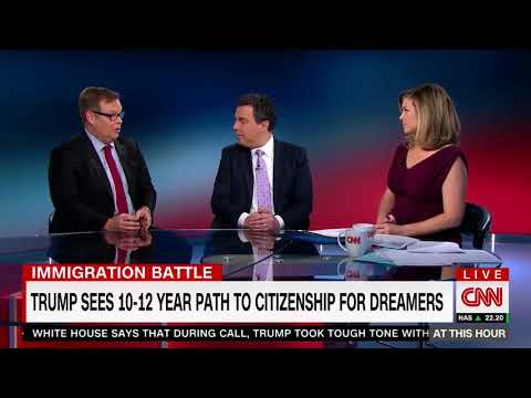Bonjean joins CNN to Discuss How Washington Plans to Solve Immigration