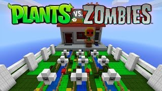 PLANTS VS ZOMBIES - MINI-JUEGO MINECRAFT