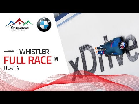 Whistler | BMW IBSF World Championships 2019 - Men's Skeleton Heat 4 | IBSF Official