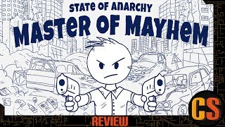 STATE OF ANARCHY: MASTER OF MAYHEM - PS4 REVIEW