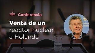 El Presidente anunció la construcción de un reactor nuclear para usos medicinales