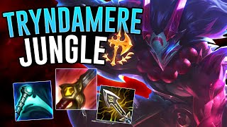 BLOODMOON TRYNDAMERE IN THE JUNGLE?! *Giveaway* - Off Meta Monday - League of Legends