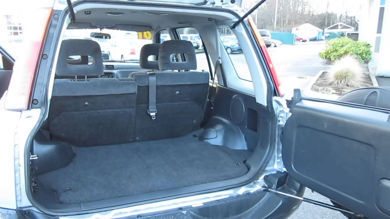 2001 Honda CR-V, Silver - STOCK# 30017BL - Trunk - YouTube