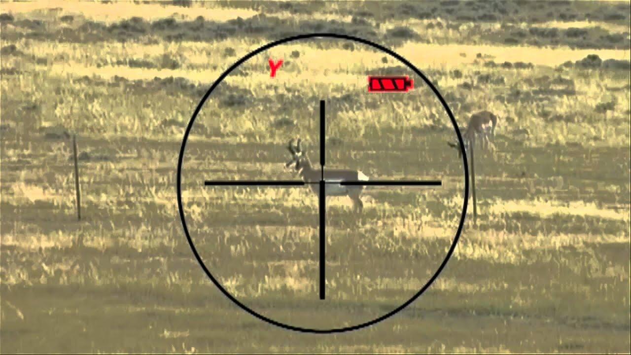Burris eliminator ballistic laserscope riflescope shot show 2012