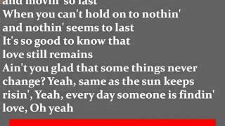 Sara Evans - Some Things Never Change Lyrics