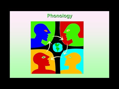 Phonology Intro