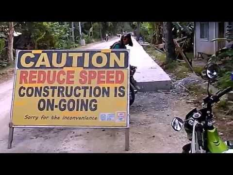 Modernizing the Philippines - Rebuilding the National Highway on Bantayan Island