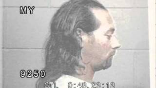 Paul Rubens mug shots after arrest in Sarasota, Florida 1991 - Pee Wee Herman