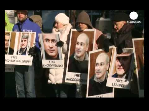 More protests at Khodorkovsky verdict