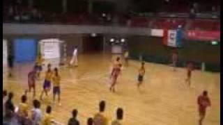 ハンドボール男子・西日本インカレ(福岡大学vs中京大学)