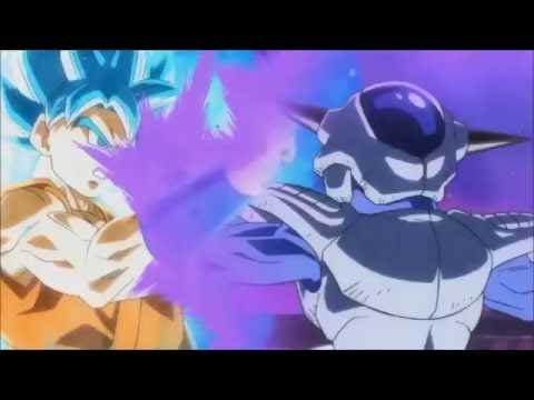 DragonBall Heroes SS God/Blue Goku vs Frost (English Audio Remake)