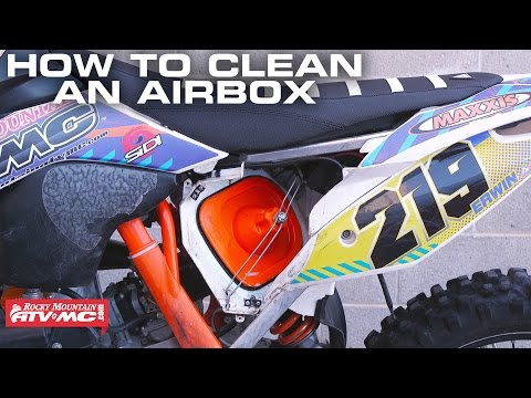 How To Clean a Motorcycle Air Box