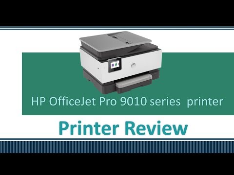HP OfficeJet Pro 9010 | 9012 | 9013 | 9014 | 9015 | 9018 | 9019 Printer Review
