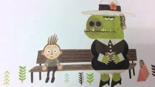 My Teacher is a Monster book trailer