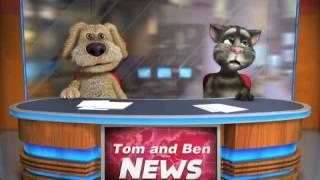 Talking Tom & Ben News: Weather Report